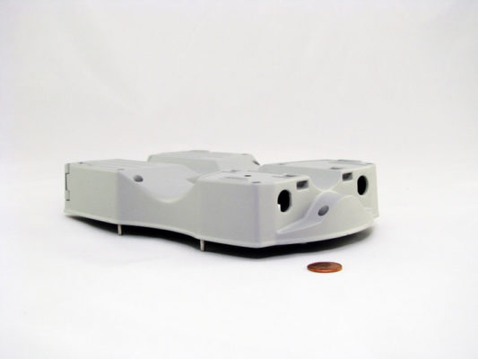 CNC Machined and Powder Coat Painted Aluminum Housing
