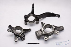 CNC Machined & Ecoat Ductile Iron Castings