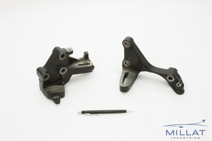 CNC Machined Ductile Iron Power Steering Pump Brackets