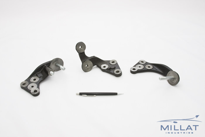 CNC Machined and Assembled Ductile Iron Brackets