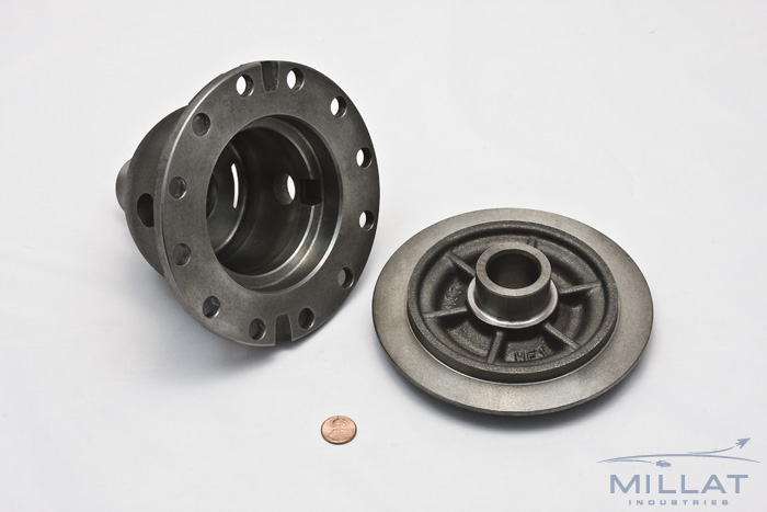CNC Machined Ductile Iron Differential Case