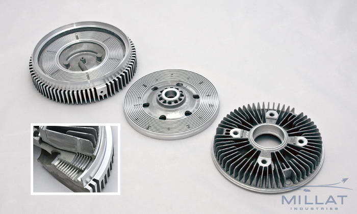 CNC Machined Aluminum Fan Clutch