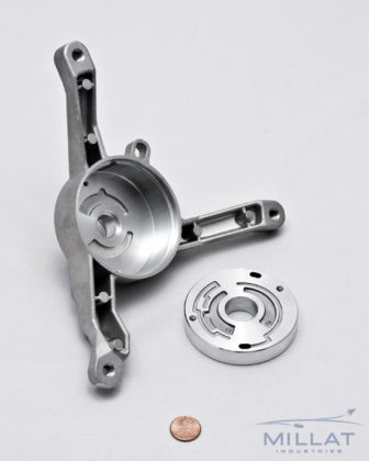 CNC Machined Aluminum Hydraulic Component