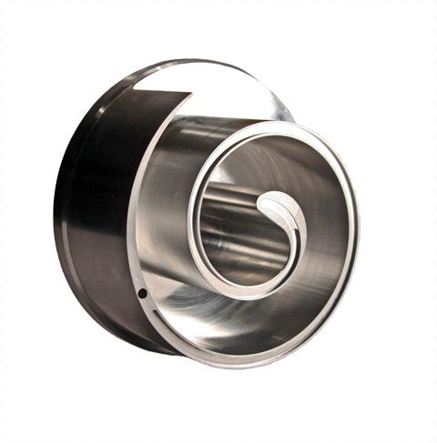 CNC Machined Aluminum Scroll Compressor Component