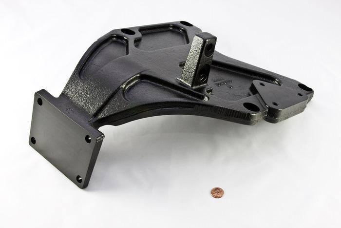 CNC Machined Ductile Iron Component