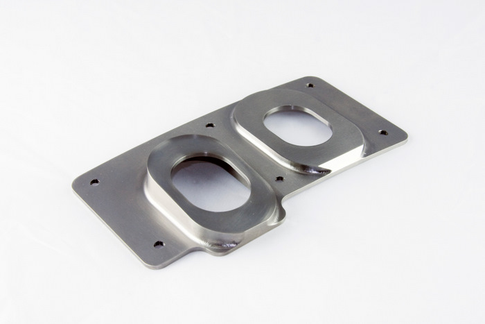 CNC Machined Inconel Aerospace Cover