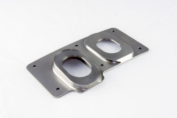 CNC Machined Inconel Aerospace Cover