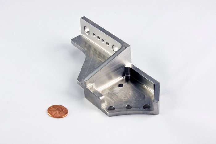 CNC Machined Titanium Aerospace Bracket