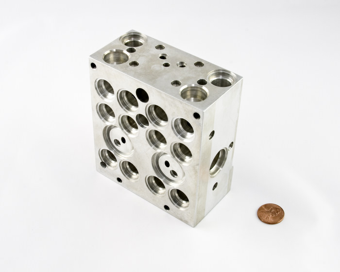 CNC Machined Aluminum Brake Body