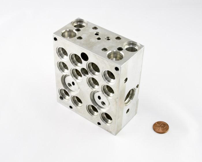 CNC Machined Aluminum Brake Body