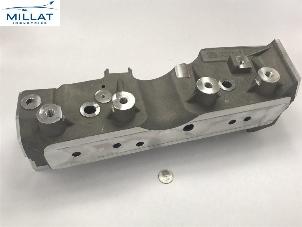 CNC Machined and Assembled Aluminum Casting